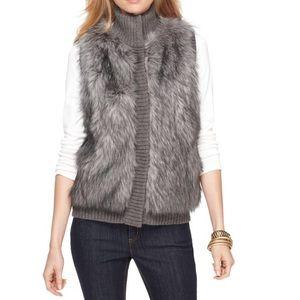 Michael KORS Faux Fur sweater vest